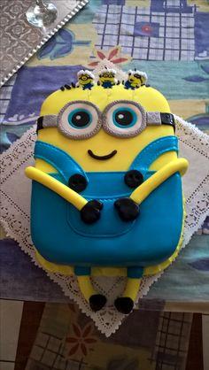 #mybirthday #cake #Minon