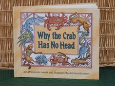 WHY THE CRAB HAS NO HEAD........................Gratitude Treasury by Pat Peters on Etsy