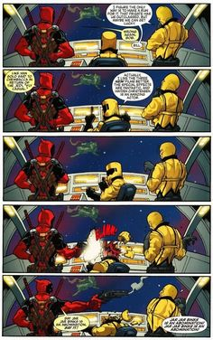 He stands up for what he believes in. | 23 Reasons Everyone Should Love Deadpool - Who doesn't love Deadpool?