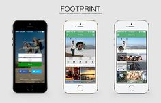FOOTPRINT by bhimanda rury, via Behance
