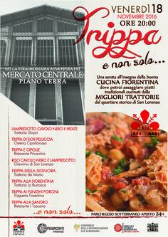 Trippa e non solo... al Mercato Centrale (18 Novembre 2016)