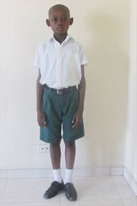 Timothy attends a new Compassion center in Haiti. Soccer and art are his favorite activites.