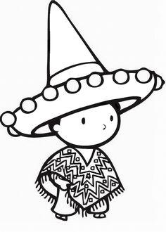 mexican drawings - Buscar con Google