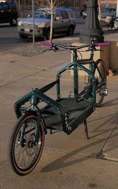Primarily work bike, but occasionally grocery/errand/park day bike. Bullitt Cargo Bike, Velo Cargo, Commuter Bag, Reverse Trike, Commute To Work, Bike Pedals, Mini Bike, Bicycle Design, Tricycle