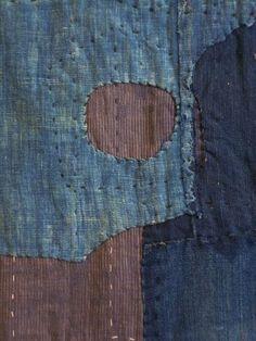 boro futon cover - detail