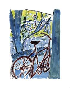 www.canvasgallery.com Bob  Dylan Bicycle