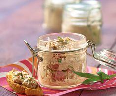 Retrouvez la recette de rillettes de thon à l'estragon du chef Cyril Lignac.