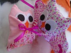 """my cuties ! Owls for party favors ! """"My little lab"""" Softies, Party Favors, Sewing Projects, Owls, Lab, Owl, Labs, Stuffed Animals, Princess Party Favors"""