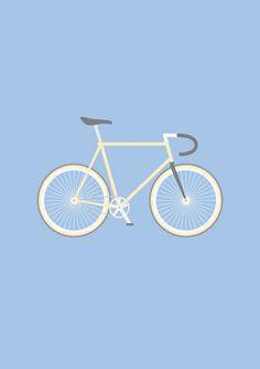 #97 bike Art Print