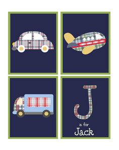 Personalized Transportation prints/children by ThePrintedOwl, $40.00