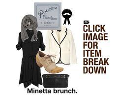 #whatwouldbelwear: Minetta brunch.