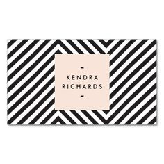 Mod Business Card Template - Event Planners, Makeup Artists, Crafters, Artists, Personal Branding, etc.