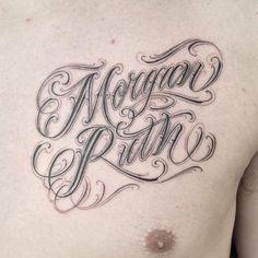 Cursive Tattoo Fonts Tattoo Letters In Cursive Free