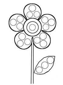 Coloring Pages for PonPon Bonding Activity Preschool Art Activities, Spring Activities, Infant Activities, Yayoi Kusama, Spring Crafts For Kids, Art For Kids, Do A Dot, Dot Painting, Coloring Pages