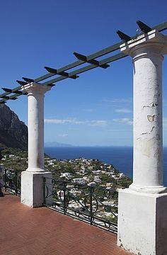 La isla de Capri, Campania, Italia, Mediterráneo, Europa