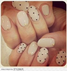 dot nails- Now that's interesting...