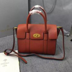 e8e8c1630611 New Mulberry Handbags Collection Outlet UK-Mulberry Small New Bayswater Oak  Natural Grain Leather