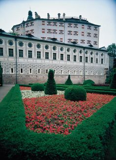 Castle Ambras near Innsbruck (Tyrol), instructed by Archduke Ferdinand II. for his wife Philippine Welser between 1564-1589.