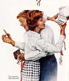 Norman Rockwell -Gift