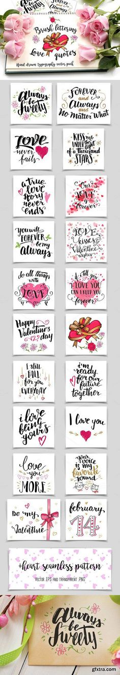 CM - Brush Lettering Love Quotes 701881 More
