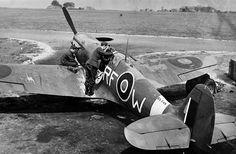 Supermarine Spitfire Mk.VB, BL748, RF-W, 303 (Polish) Sqadron, pilot Sgt Chojnacki, Kirton-in-Lindsey, August 1942.