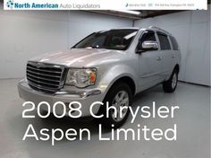 Car of the day 2008 Chrysler Aspen Limited 4X4 with 78,205 miles for $13,681