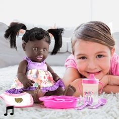 Doll with Sound and Accessories Gifts For Girls, Dolls, Baby, Products, Creative Gifts, Things To Sell, Doll, Sons, Gifts For Children