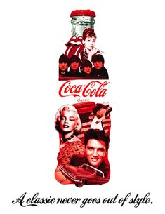 The most famous bottle of the world only with the most famous of the world.