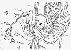 Színezők- kifestők: Aranyhaj színező kifestő (Tangled/Rapunzel coloring pages) Rapunzel, Thing 1, Photo And Video, Art, Kunst, Tangled, Art Education, Artworks
