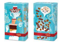 Juhla retro design #packaging AM