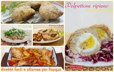 Ricette facili per Pasqua, secondi piatti sfiziosi Mousse, Food And Drink, Menu, Hobby, Chicken, Breakfast, Ethnic Recipes, Collage, Album