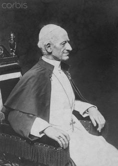 Pope Leo XIII - who was the pope from 1878 to 1903.   #TuscanyAgriturismoGiratola