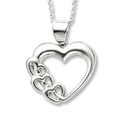 Sterling Silver Heart Necklace #methodholidayhappy