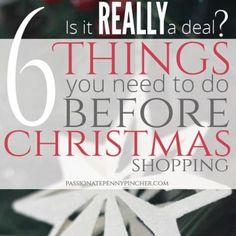 Christmas Shopping Tips Before Christmas, Christmas Ideas, Shopping Tips, Christmas Shopping, Passion