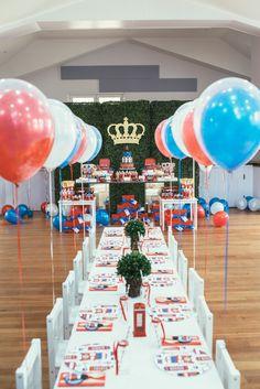 Adorable London inspired 1st birthday party! | Photography: Nisha Ravji - www.nisharavji.com   Read More: http://www.stylemepretty.com/living/2014/09/05/london-calling-1st-birthday-party/