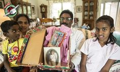 A family in India receives life-changing encouragement through an Operation Christmas Child shoebox gift sent from a couple in North Carolina.