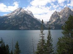 Jenny Lake, Grand Teton National Park, Wyoming - absolutely stunning with the cleanest air