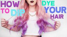 How To: Dip Dye Your Hair!!    by tashaleelyn