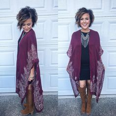 "950 Likes, 44 Comments - Nicole Huntsman (@nicole_huntsman) on Instagram: ""This kimono from @currentsocietyclothing is SO cozy! Off to date night with hubby!"""