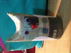 Toilet paper owl craft, easy and fun :)