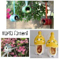 Que tal ajudar a natureza dando um lar aos passarinhos !!!! E ainda ajudando a reciclar 🌲🍂