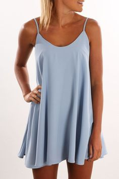 Swayze Dress Blue
