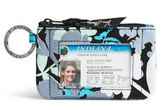 Wallets Vera Bradley Zip ID Case in Camofloral - Boutique Page Vera Bradley Id Case, Business Card Case, Wallet Pattern, Wallets For Women Leather, Dillards, Indiana, Leather Wallet, Diaper Bag, Shoe Bag