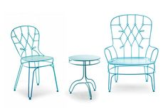 """""""FildeFer"""" collection: chair, sofa, table and coffee table for outdoor"""