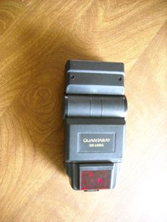 Quantaray QB 6500A Shoe Mount Flash for sale at Wenzel Thrifty Nickel ecrater store