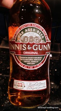 Innis and Gunn served at the EPCOT Food and Wine Festival 2013!!!