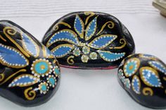painted stone art