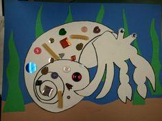 hermit crab craft, found pattern on google :)