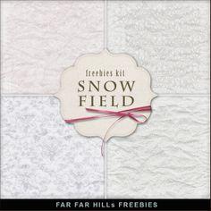 Scrapbooking TammyTags -- TT - Designer - Far Far Hill,  TT - Item - Paper, TT - Theme - Winter or Snow