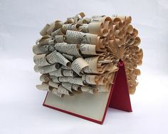 Liz Hamman incredibly talented book, paper artist